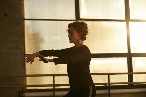 Emily Coates dancing