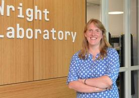 Prof. Caines at Wright Laboratory