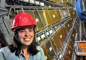 Elizabeth Ruddy visits CERN, the European Organization for Nuclear Research.