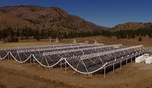 CHIME telescope array