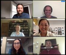 zoom photograph of thesis committee.